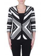 Joseph Ribkoff Black/White Jacket Style 172852
