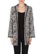 Joseph Ribkoff Black/White Jacket Style 173861
