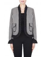 Joseph Ribkoff Black/White Jacket Style 183755