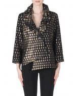 Joseph Ribkoff Black/Copper Jacket Style 183880