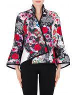 Joseph Ribkoff White/Multi Jacket Style 184716