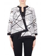 Joseph Ribkoff Black/White Jacket Style 184800