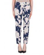 Joseph Ribkoff Blue/Beige Pants Style 191752