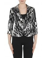 Joseph Ribkoff Black/White Jacket Style 191801