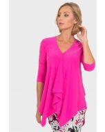 Joseph Ribkoff Neon Pink Top Style 192072