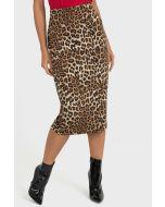 Joseph Ribkoff Beige/Black Skirt Style 193553