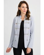 Joseph Ribkoff Grey Frost Jacket Style 201030