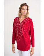 Joseph Ribkoff Red Tunic Style 201145