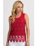 Joseph Ribkoff Lipstick Red Camisole Style 201237