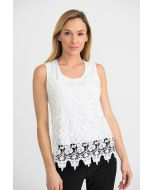 Joseph Ribkoff White Camisole Style 201237