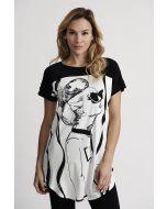 Joseph Ribkoff Black/White Tunic Style 201300