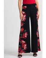 Joseph Ribkoff Black/Multi Pant Style 201358
