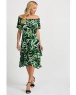 Joseph Ribkoff Black/Multi Dress Style 201372