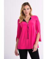 Joseph Ribkoff Hyper Pink Tunic Style 201421
