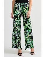 Joseph Ribkoff Black/Multi Pant Style 201484