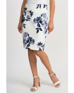 Joseph Ribkoff Vanilla/Grey Skirt Style 201527
