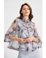 Joseph Ribkoff Grey/Multi Jacket Style 201539