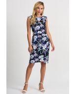 Joseph Ribkoff Black/Multi Dress Style 201639