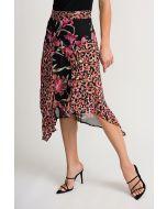 Joseph Ribkoff Black/Multi Skirt Style 202174