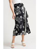Joseph Ribkoff Black/Vanilla Skirt Style 202256