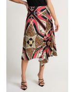 Joseph Ribkoff Papaya/Multi Skirt Style 202257