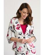 Joseph Ribkoff Vanilla/Multi Jacket Style 202371