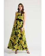 Joseph Ribkoff Black/Yellow Dress Style 202430