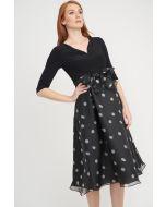 Joseph Ribkoff Black/White Dress Style 203440