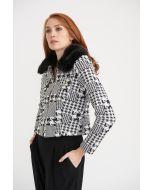 Joseph Ribkoff Black/White Jacket Style 203529