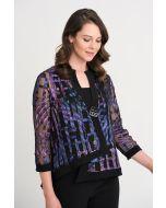Joseph Ribkoff Purple/Multi Jacket Style 204334