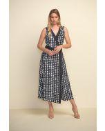 Joseph Ribkoff Black/White Dress Style 211176