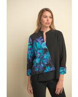 Joseph Ribkoff Black/Multi Jacket Style 211180