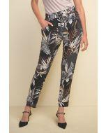 Joseph Ribkoff Black/Multi Pants Style 211318