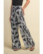 Joseph Ribkoff Black/White Pant Style 211368