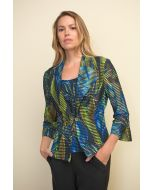 Joseph Ribkoff Black/Multi Two Piece Jacket Style 211432