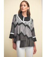 Joseph Ribkoff Black/Grey/Vanilla Jacket Style 211953