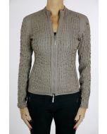 Joseph Ribkoff Beige Reversible Jacket Style 164992