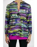 Joseph Ribkoff Jacket Style 161651 - Purple