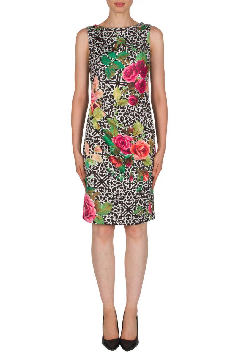 Joseph Ribkoff 181045 Designer Evening Dress Black Homecoming