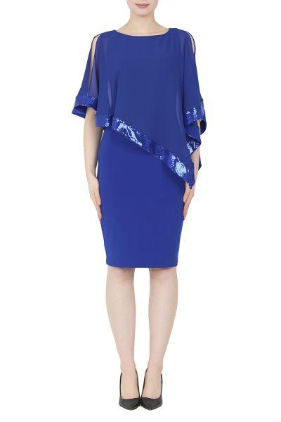 Joseph Ribkoff Royal Sapphire Dress Style 154377G
