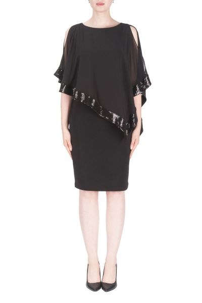 Joseph Ribkoff Black Dress Style 154377