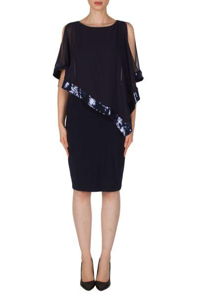 Joseph Ribkoff Midnight Blue Dress Style 154377