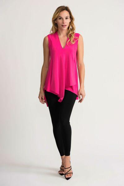 Joseph Ribkoff Hyper Pink Tunic Style 161060