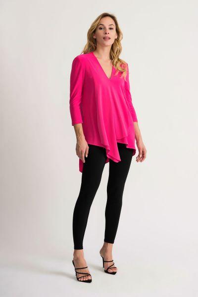 Joseph Ribkoff Hyper Pink Top Style 161066