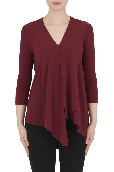 Joseph Ribkoff Imperial Red Top Style 161066