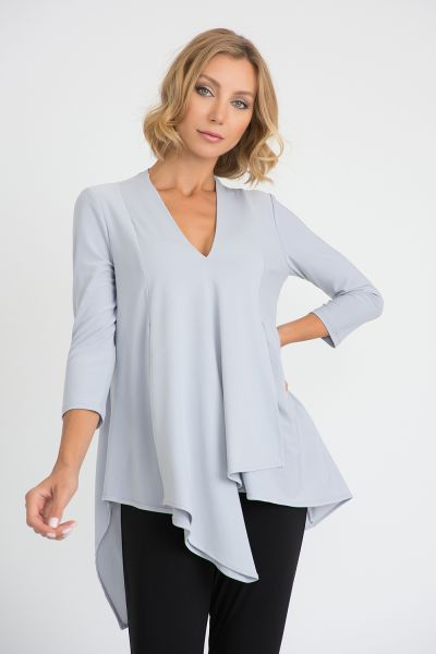 Joseph Ribkoff Grey Frost Top Style 161066