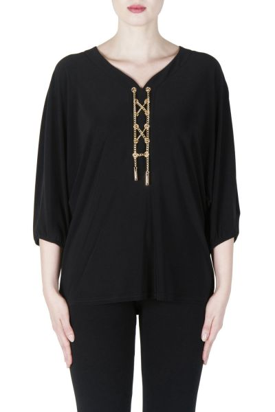 Joseph Ribkoff Black Tunic Style 171070