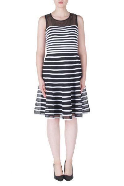 Joseph Ribkoff Black/White Dress Style 171160