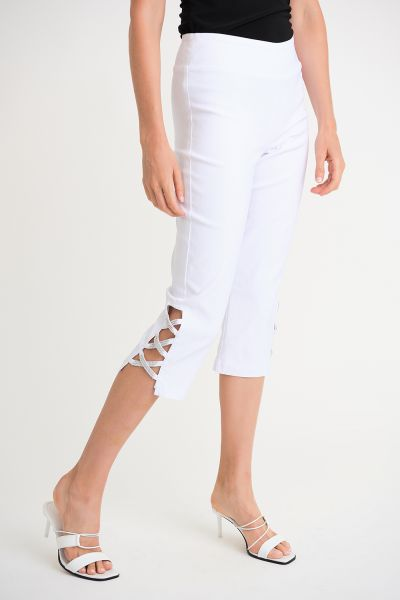 Joseph Ribkoff White Pant Style 171190