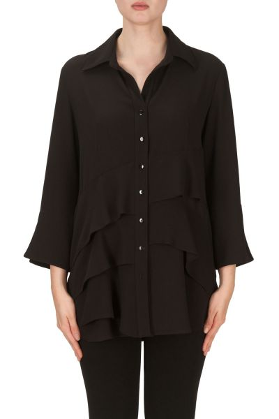 Joseph Ribkoff Black Blouse Style 171255